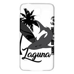 Surf   Laguna Samsung Galaxy S5 Back Case (white) by Valentinaart