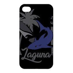 Surf   Laguna Apple Iphone 4/4s Premium Hardshell Case by Valentinaart