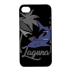 Surf   Laguna Apple Iphone 4/4s Hardshell Case With Stand by Valentinaart