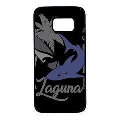 Surf   Laguna Samsung Galaxy S7 Black Seamless Case by Valentinaart