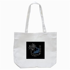 Surf   Laguna Tote Bag (white) by Valentinaart