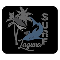 Surf   Laguna Double Sided Flano Blanket (small)