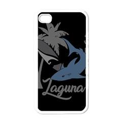 Surf   Laguna Apple Iphone 4 Case (white) by Valentinaart