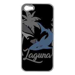 Surf   Laguna Apple Iphone 5 Case (silver) by Valentinaart