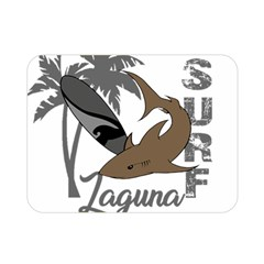 Surf   Laguna Double Sided Flano Blanket (mini)  by Valentinaart