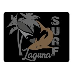Surf   Laguna Fleece Blanket (small) by Valentinaart