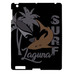 Surf   Laguna Apple Ipad 3/4 Hardshell Case by Valentinaart