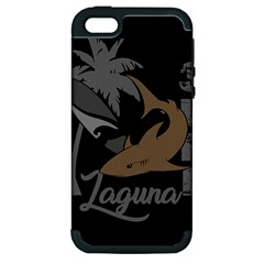 Surf   Laguna Apple Iphone 5 Hardshell Case (pc+silicone) by Valentinaart