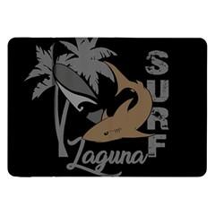 Surf   Laguna Samsung Galaxy Tab 8 9  P7300 Flip Case by Valentinaart