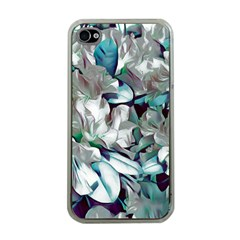 Elegant Flowers C Apple Iphone 4 Case (clear) by MoreColorsinLife