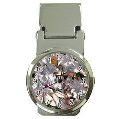 Elegant Flowers B Money Clip Watches by MoreColorsinLife