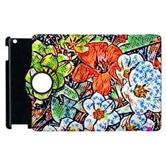 Hot Flowers 02 Apple Ipad 2 Flip 360 Case by MoreColorsinLife