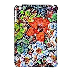 Hot Flowers 02 Apple Ipad Mini Hardshell Case (compatible With Smart Cover) by MoreColorsinLife
