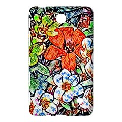 Hot Flowers 02 Samsung Galaxy Tab 4 (8 ) Hardshell Case  by MoreColorsinLife