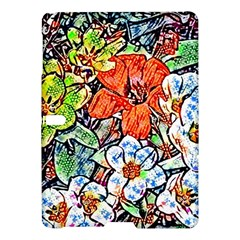 Hot Flowers 02 Samsung Galaxy Tab S (10 5 ) Hardshell Case  by MoreColorsinLife