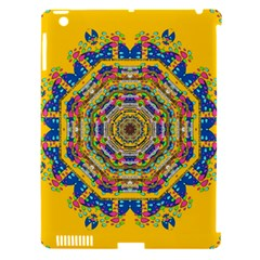 Happy Fantasy Earth Mandala Apple Ipad 3/4 Hardshell Case (compatible With Smart Cover) by pepitasart