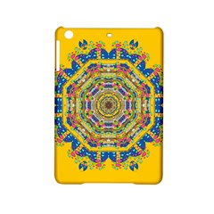 Happy Fantasy Earth Mandala Ipad Mini 2 Hardshell Cases by pepitasart