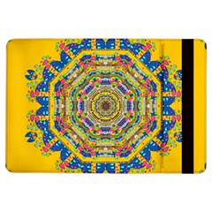 Happy Fantasy Earth Mandala Ipad Air Flip by pepitasart