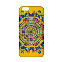 Happy Fantasy Earth Mandala Apple Iphone 6/6s Hardshell Case by pepitasart