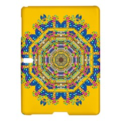 Happy Fantasy Earth Mandala Samsung Galaxy Tab S (10 5 ) Hardshell Case  by pepitasart