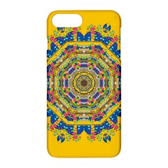 Happy Fantasy Earth Mandala Apple Iphone 7 Plus Hardshell Case by pepitasart