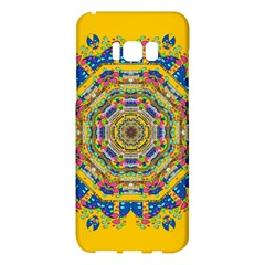 Happy Fantasy Earth Mandala Samsung Galaxy S8 Plus Hardshell Case  by pepitasart