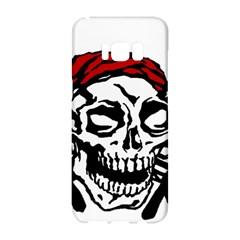 Pirate Flag insignia  Samsung Galaxy S8 Hardshell Case