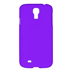 Neon Purple Solid Color  Samsung Galaxy S4 I9500/i9505 Hardshell Case by SimplyColor