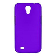 Neon Purple Solid Color  Samsung Galaxy Mega 6 3  I9200 Hardshell Case by SimplyColor