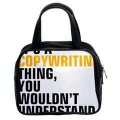 07 Copywriting Thing Copy Classic Handbags (2 Sides) by flamingarts
