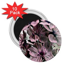 Wonderful Silky Flowers A 2 25  Magnets (10 Pack)  by MoreColorsinLife
