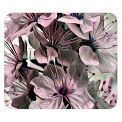 Wonderful Silky Flowers A Double Sided Flano Blanket (small)  by MoreColorsinLife