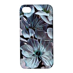 Wonderful Silky Flowers B Apple Iphone 4/4s Hardshell Case With Stand by MoreColorsinLife