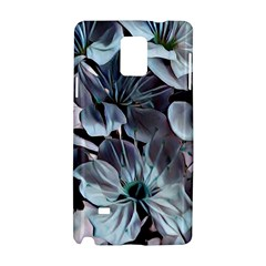 Wonderful Silky Flowers B Samsung Galaxy Note 4 Hardshell Case by MoreColorsinLife