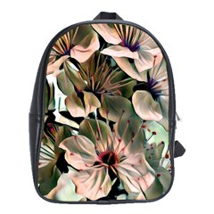 Wonderful Silky Flowers C School Bags (xl)  by MoreColorsinLife