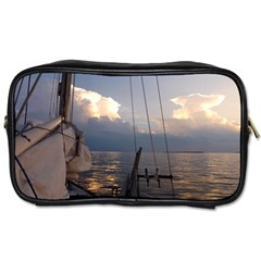 Sailing Into The Storm Toiletries Bags 2 Side by oddzodd