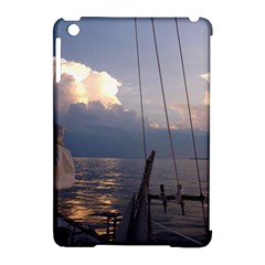 Sailing Into The Storm Apple iPad Mini Hardshell Case (Compatible with Smart Cover) by oddzodd