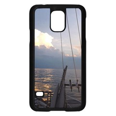 Sailing Into The Storm Samsung Galaxy S5 Case (black) by oddzodd
