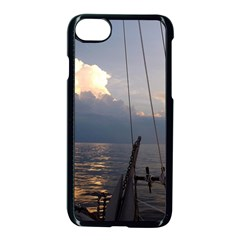 Sailing Into The Storm Apple Iphone 7 Seamless Case (black) by oddzodd