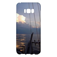 Sailing Into The Storm Samsung Galaxy S8 Plus Hardshell Case  by oddzodd