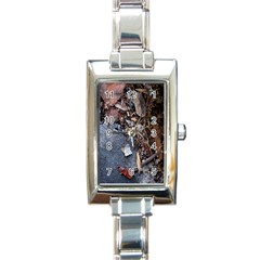 Transition Rectangle Italian Charm Watch by oddzodd