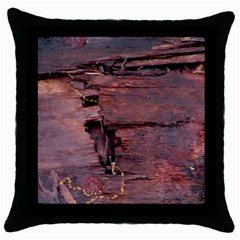 Dissonance Throw Pillow Case (black) by oddzodd