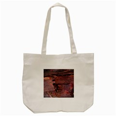 Dissonance Tote Bag (cream) by oddzodd