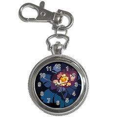 Flower Key Chain Watches by oddzodd