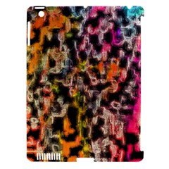 Colorful Texture               Apple Ipad 3/4 Hardshell Case (compatible With Smart Cover) by LalyLauraFLM