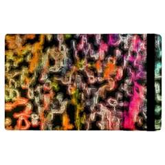 Colorful Texture               Apple Ipad 2 Flip Case by LalyLauraFLM