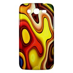 Colorful 3d Shapes               Samsung Galaxy Duos I8262 Hardshell Case by LalyLauraFLM