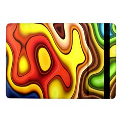 Colorful 3d Shapes               Samsung Galaxy Tab Pro 8 4  Flip Case by LalyLauraFLM