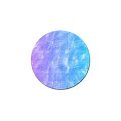 Blue Purple Watercolors                     Golf Ball Marker (4 Pack) by LalyLauraFLM