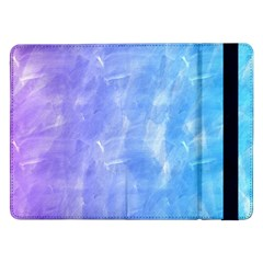 Blue Purple Watercolors               Samsung Galaxy Tab Pro 10 1  Flip Case by LalyLauraFLM
